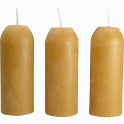 UcO candle Lantern 3.5Inch candles 3Pack 9Hour Beeswax $19.87