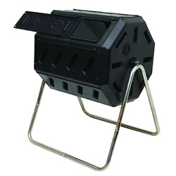Tumbling Composter Two Chambers Efficient Batch Composting Kitchen Yard Waste $130.30