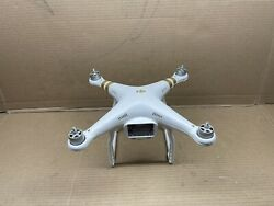 Dji Phantom 3 Professional Quadcopter Drone For Parts Only Rc Part #5233 $114.98