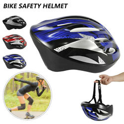 USA Cycling Bicycle Adult Men Womens Bike Helmet With Visor Mountain Shockproof $12.89