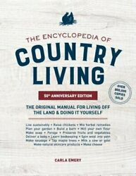 The Encyclopedia of Country Living 50th Anniversary Edition: The Original: New $18.54
