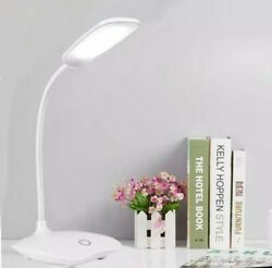 LED Desk Lamp Foldable Dimmable Touch Table Lamp DC5V USB Powered table Light $9.50