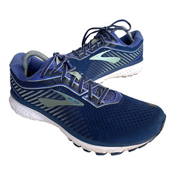 Brooks Ghost 12 Womens Sz 11 Blue Athletic Walking Trail Running Shoes Sneakers $36.95