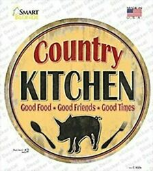 Country Kitchen Circle Sticker Decal $8.99