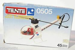 Tente NEWS REPORT HELICOPTER Set 0505 Spain 45 Pcs Exin Reportajes Helicoptero $57.90