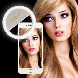 RC Selfie Ring Light Compatible with iPhone Samsung Galaxy S7 white $23.69