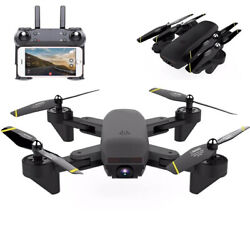 NEW Rc Drone HD Wide Angle Camera WiFi fpv foldable Drone Dual Camera Quadcopter $49.99