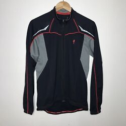 Specialized Cycling Full Zip Soft Shell Jacket Mens L $29.99