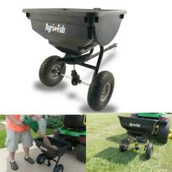 Tow Behind Broadcast Spreader Fertilizer Seed Hopper Lawn Atv Tractor Salt Grass $134.99