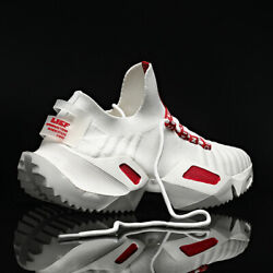 Men#x27;s Casual Running Trainers Walking Sports Athletic Sneakers Tennis Shoes Gym $26.99