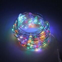 Waterproof LED Solar Lamps Solar String Light Christmas Holiday Party Decoration $10.66