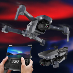 4K Professional Camera Racing Drone GPS Wifi RC FPV Quadcopter FPV Foldable Gift $265.00