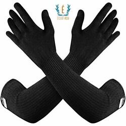 100% Kevlar Gloves with Sleeves by Dupont Anti Scratch Heat amp; Cut Resistant $41.01