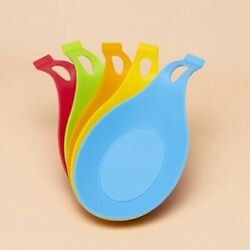 1pcs Food Grade Spoon Accessories Rest Holder Heat Resistant stand for Kitchen $6.45