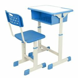 Ktaxon Kids Desk and Chair SetHeight Adjustable Children Study Table Pull Out D $94.99