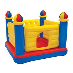 Intex Inflatable Colorful Jump O Lene Kids Ball Pit Castle Bouncer for Ages 3 6 $44.90