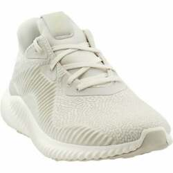 adidas Alphabounce Hpc Ams Mens Running Sneakers Shoes Neutral White Size $59.99