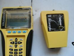 USED PORTABLE VALIDATOR NT900 LAN TESTER WITH CABLES AND PARTS AND CASE $700.00