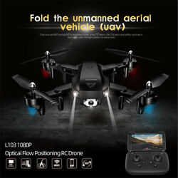 L103 RC Drone With Camera 1080P Wifi FPV Foldable Quadcopter LED Light Toy K3T7 $33.81