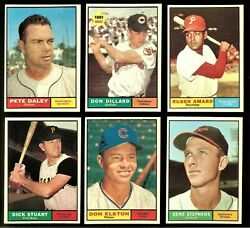 1961 Topps Baseball: Choose Your Card #003 to #099 ***UPDATED 05 06 2021*** $4.00