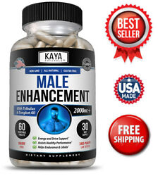 Male Enhancement Pill Boost Testosterone Endurance Increased Sex Drive Stamina $10.99