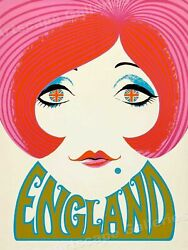 England Vintage Home Decor Style No Frame Poster Wall Art Print For Gift $17.80