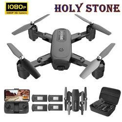 Holy Stone Foldable Drone with 1080P 110° HD Camera Voice Control Altitude Hold $49.99