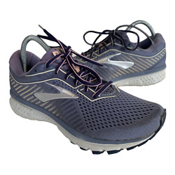 Brooks Ghost 12 Womens Size 9 Gray Athletic Running Walking Trail Shoes Sneakers $39.95