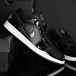 Nike Air Jordan 1 Low SE ASW All Star Weekend Carbon Fiber DD1650 001 Sizes 4 13