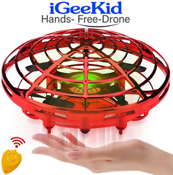 Kids Mini Drones Hand Operated Flying Toy Holiday Toy For Boys Age 3 14 Infrared $29.12