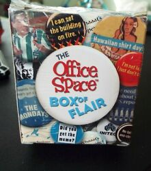 Mega Mini Kits OFFICE SPACE BOX OF FLAIR Guide Booklet 15 Pins Buttons NEW $12.95