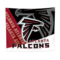 Atlanta Falcons Tapestry Wall Hanging Cover Home Decor 50quot; x 60quot; $10.95