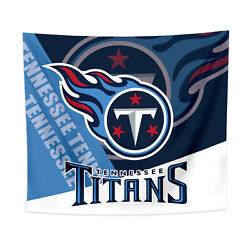 Tennessee Titans Tapestry Wall Hanging Cover Home Decor 50quot; x 60quot; $10.95