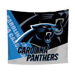 Carolina Panthers Tapestry Wall Hanging Cover Home Decor 50quot; x 60quot; $10.95