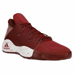 adidas Sm Pro Vision Mens Basketball Sneakers Shoes Casual Burgundy Size $79.99