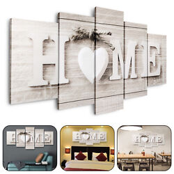 5Pcs Unframed Modern Wall Art Painting Print Canvas Picture Home Room Decor Gift $12.28