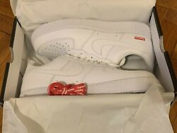 Nike Air Force 1 Supreme White Size 11 US Men IN HAND Brand New Quick Ship $180.00