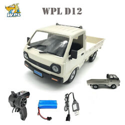 WPL D12 1 10 RC 260 Motor Simulation Drift Truck Car for Kids Birthday Gifts $49.00