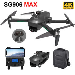 SG906 MAX EVO WIFI FPV 5G RC Drone Camera HD GPS 4K 3Axis Gimbal Quadcopter $350.16