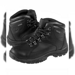 TIMBERLAND 5751A AUTHENTIC MENS THORTON MID GORE TEX HIKING BLACK BOOTS SIZE 8.5 $79.99