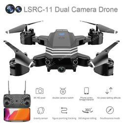 4K Drone Camera Mini Foldable FPV Wifi Drones HD 1080P Professional RC Toys $35.99