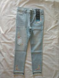 Jordache Girls High Rise Super Skinny Ankle Jeans size 12 $12.00