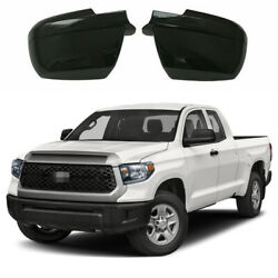 Gloss Black For 2007 2020 Toyota Tundra amp; Sequoia Side Mirror Covers Overlays $51.92