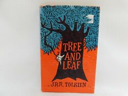 Vintage Tree and Leaf by J.R.R.Tolkien HB 1st American Printing 1965 Later Print $51.00