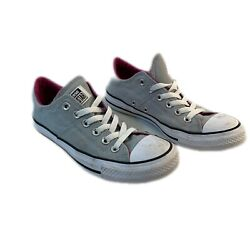 Converse All Star Womens Gray Lace Up Sneakers 557986F Athletic Shoes Size 7 $19.19