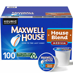 Maxwell House House Blend K Cup Coffee Pods 100 ct. $25.99