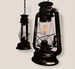 Retro Metal Lamp Shade Ceiling with Hanging Chain amp; Bulb holder Home amp; Outdoor $48.69