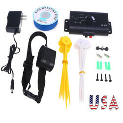1Pc Underground Electric Dog Fence System Waterproof Shock Collars For Pet US $32.99