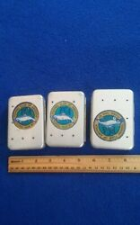 Vintage Perrine fly boxes x3 with over 200 flies $85.00