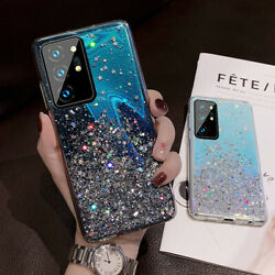 NEW Cute Bling Glitter Case Cute Cover for Samsung Galaxy Note 20 Note 20 Ultra $7.95
